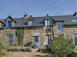 Holiday Home Ruffiac with Fireplace I, Saint-Martin-sur-Oust