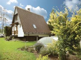 Two-Bedroom Holiday Home in Trhove Sviny, Trhové Sviny (Polžov yakınında)