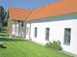 Holiday home Bzi, Dolní Bukovsko (Borkovice yakınında)
