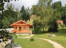 One-Bedroom Holiday Home in Becov nad Teplou, Bečov nad Teplou (Horní Slavkov yakınında)