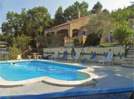 Four-Bedroom Holiday Home in Montmeyan, Montmeyan