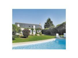 Holiday home Beaumont La Ronce 43, Beaumont-la-Ronce (рядом с городом Rouziers-de-Touraine)
