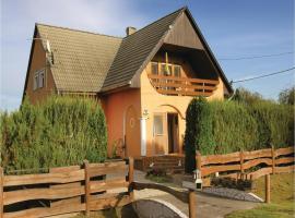 Four-Bedroom Holiday Home in Balatonkeresztur