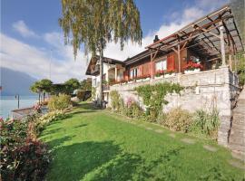 Holiday Apartment Chalet Bernhard 02, Oberried (Iseltwald yakınında)