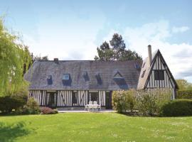 Holiday Home St-Ouen d Thouberville with Fireplace I, Saint-Ouen-de-Thouberville (рядом с городом Barneville-sur-Seine)