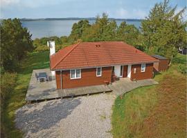Holiday home Skals with Sea View 259, Hjarbæk (Knud yakınında)