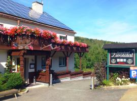 Ferienhotel Zwotatal, Zwota (Erlbach yakınında)