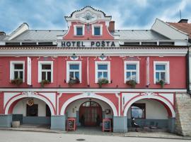 Hotel Pošta, Sobotka