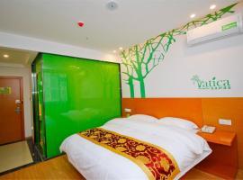 Vatica Qingdao Licang District Xiazhuang Road Hexie Plaza Hotel, Qingdao (Cangkou yakınında)