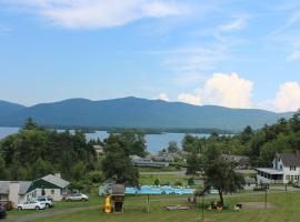 Hill View Motel and Cottages, Lake George (in de buurt van Warrensburg)