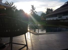 Moon Terrace Resort & Hotel, Mae Rim (in de buurt van Ban Huai Sai)