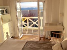 Zimmer mit Bad und Balkon, Widen (Künten yakınında)