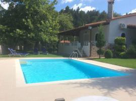Beautiful Villa in Amazing Location, Prokópion (рядом с городом Pili)