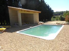 Mas de Pape avec piscine, Graminier (рядом с городом Monteux)