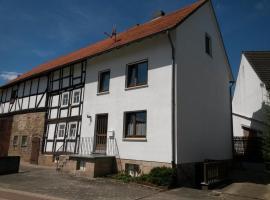Ferienhaus Bernhardine, Knüllwald (Welferode yakınında)