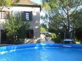 Appartement Cenac, Sainte-Croix (рядом с городом La Capelle-Balaguier)