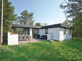 Three-Bedroom Holiday home Thyholm with a Fireplace 06, Sønder Ydby (Lyngs yakınında)