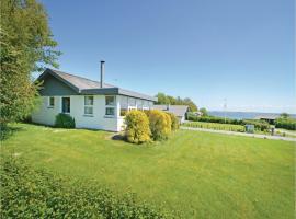Holiday Home Snedsted with a Fireplace 07, Skyum (Vester Jølby yakınında)