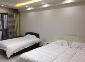 Harbin Leisure Station Holiday Apartment Songbei Wanda, Harbin (Wanbao yakınında)