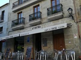 Pension a Fontiña, Cuntis
