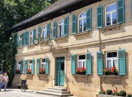 Gasthof Schiller bei Bamberg, Strullendorf (Geisfeld yakınında)
