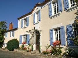 L'appartement de Moulin Cacaud, La Chapelle-Grésignac (рядом с городом Champagne-et-Fontaine)
