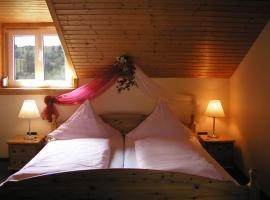 Apartment Landhotel Zum Storchennest, Bann (Horbach yakınında)