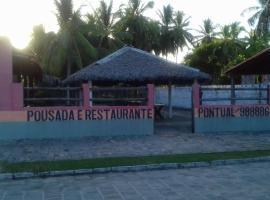 Pousada e Restaurante Pontual, Santo Amaro (Primeira Cruz yakınında)