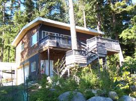 Malaspina Strait Cottage, Powell River