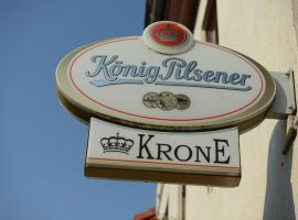 Landgasthof & Hotel Krone, Ichtershausen (Molsdorf yakınında)