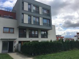 Apartment with garden near Aquapark