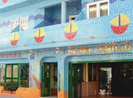 Hotel Emilio, Пунта-Умбрия (рядом с городом Ла-Рабида)