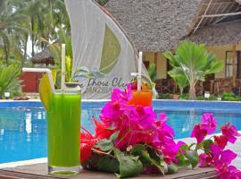 The Dhow Club, Zanzibar, Pwani Mchangani
