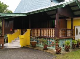 Malay Melaka Traditional House 3 Bintang