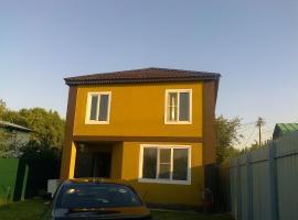 House on Parusnaya, Mytishchi