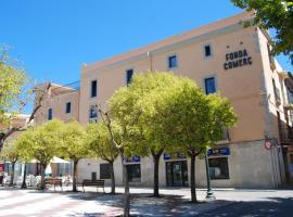 Apartaments Fonda Comerç, Торроэлья-де-Монгри (рядом с городом Gualta)