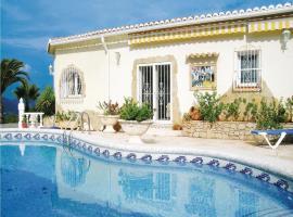 Holiday home Calle Aldea de los Cuevas, Benidoleig