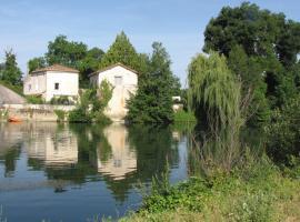 The Riverside Retreat-Le Pont De Vinade, Saint-Même-les-Carrières (рядом с городом Mérignac)