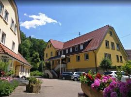 Hotel Gasthof Krone, Sulzbach am Kocher (Untergröningen yakınında)