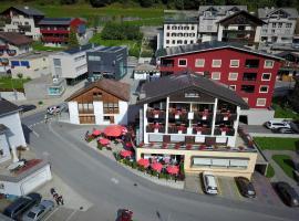Hotel Restaurant La Furca, Disentis (Cavardiras yakınında)
