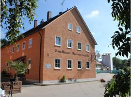 Landgasthof-Hotel Hammermühle, Donaustauf (Wiesent yakınında)