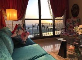 Nile View Apartment, Kahire (Jazīrat adh Dhahab yakınında)