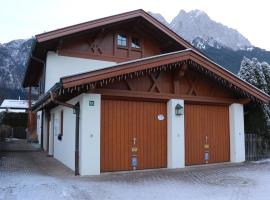 Ferienwohnungen Alpenstern, Grainau (Hammersbach yakınında)