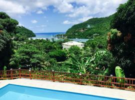Treetops Apartments, Marigot Bay