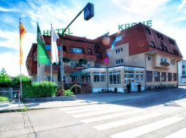 Hotel Krone, Niefern-Öschelbronn (Kieselbronn yakınında)