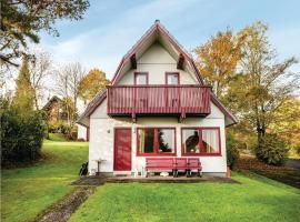Three-Bedroom Holiday home Kirchheim/Hessen with a Fireplace 09, Kemmerode (Breitenbach am Herzberg yakınında)
