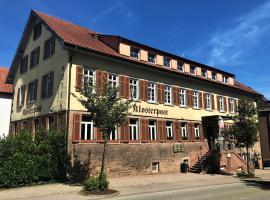Klosterpost, Maulbronn