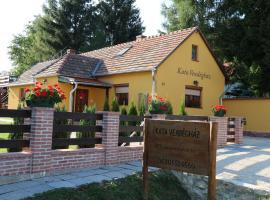 Kata vendégház, Pénzesgyőr (рядом с городом Hárskút)