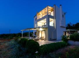 Modern villa P&A close to the beach, Аниссарас