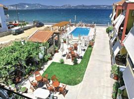 One-Bedroom Holiday home with Sea View in Gera Bay Lesvos, Apidias Lakos (рядом с городом Agiásos)